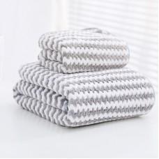 Набор полотенец из 2-х штук полиэстер, 140*70см, 35*75см, zak02-1608461030203-30