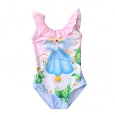 Купальник детский для девочки слитный, zak108-0215
