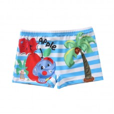 Плавательные шорты-боксеры для мальчиков, с поясом для завязывания, zak108-197