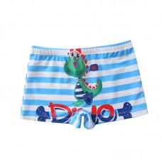 Плавательные шорты-боксеры для мальчиков, с поясом для завязывания, zak108-148