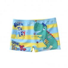 Плавательные шорты-боксеры для мальчиков, с поясом для завязывания, zak108-139
