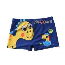 Плавательные шорты-боксеры для мальчиков, с поясом для завязывания, zak108-201