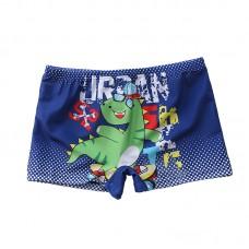 Плавательные шорты-боксеры для мальчиков, с поясом для завязывания, zak108-141