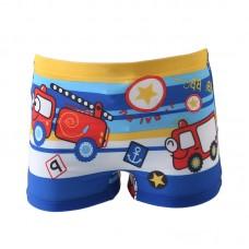 Плавательные шорты-боксеры для мальчиков, с поясом для завязывания, zak108-142