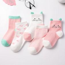 Носки детские с рисунком 5 штук хлопок, zak124-1607597399538-3