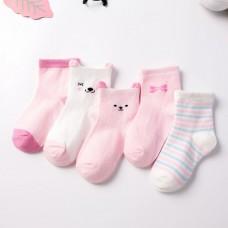 Носки детские с рисунком 5 штук хлопок, zak124-1607597399538-4