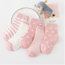Носки детские с рисунком 5 штук хлопок, zak124-1609573142208-4