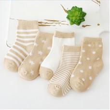 Носки детские с рисунком 5 штук хлопок, zak124-1609573142208-5