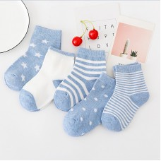 Носки детские с рисунком 5 штук хлопок, zak124-1609573142208-6
