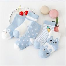 Носки детские с рисунком 5 штук хлопок, zak124-1609573142208-8