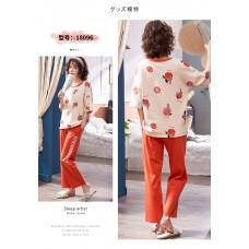 Комплект пижамный женский домашний хлопок, zak126-NJR-L18096