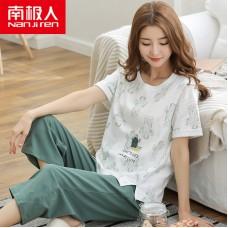 Комплект пижамный женский домашний хлопок, zak126-NJR-RS272