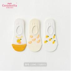 Набор носков хлопок Caramella 22-25см 3шт, zak142-518373
