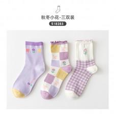 Набор носков хлопок Caramella 22-25см 3шт, zak142-518283
