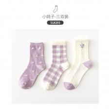 Набор носков хлопок Caramella 22-25см 3шт, zak142-518293