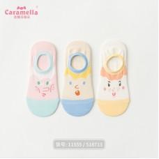 Набор носков хлопок Caramella 22-25см 3шт, zak142-518713