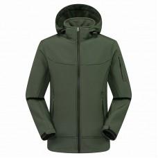 Куртка мужская осенне-зимняя softshell, zak174-822-4