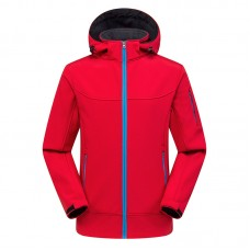 Куртка мужская осенне-зимняя softshell, zak174-822-6