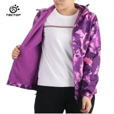 Куртка женская осенне-зимняя softshell Tectop, zak174-80313-5