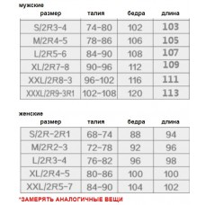 Брюки женские серые softshell, zak174-7