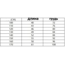 Жилет детский флис, zak174-2077-6