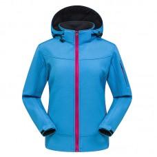 Куртка женская осенне-зимняя softshell, zak174-822-7