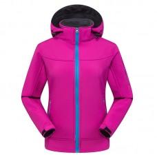 Куртка женская осенне-зимняя softshell, zak174-822-9