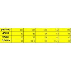 Жилет детский флис, zak174-2134-4