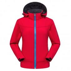 Куртка женская осенне-зимняя softshell, zak174-822-11