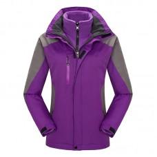 Куртка женская осенне-зимняя и кофта флис, zak174-405-10