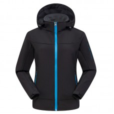 Куртка женская осенне-зимняя softshell, zak174-822-12