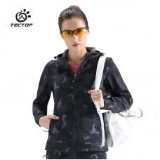Куртка женская осенне-зимняя softshell Tectop, zak174-80313-1