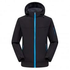 Куртка мужская осенне-зимняя softshell, zak174-822-2