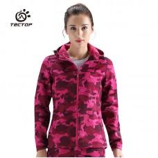 Куртка женская осенне-зимняя softshell Tectop, zak174-80313-2