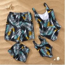 Пляжная одежда в стиле family look для всей семьи, zak18-663