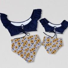 Пляжная одежда в стиле family look для всей семьи, zak18-664