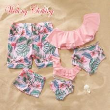 Пляжная одежда в стиле family look для всей семьи, zak18-665