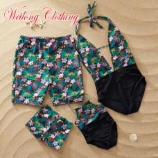 Пляжная одежда в стиле family look для всей семьи, zak18-687