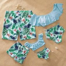 Пляжная одежда в стиле family look для всей семьи, zak18-6900