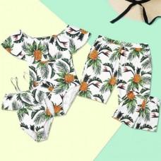 Пляжная одежда в стиле family look для всей семьи, zak18-694