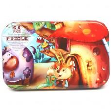Детская развивающая игрушка, пазлы 13,5*22,5см в металлической коробке, вес 0,15 кг zak19-1544088709935-11