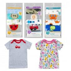 Набор маек детских 5 штук хлопок без гарантии рисунка для девочки Carter Amour, zak20-CH002-1