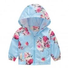 """Куртка детская """"ветровка"""", подклад шелк, вес 0.12 kg, zak25- JK8004.12"""