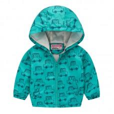 """Куртка детская """"ветровка"""", подклад шелк, вес 0.12 kg, zak25- JK8004.13"""