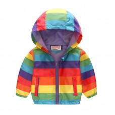 """Куртка детская """"ветровка"""", подклад шелк, вес 0.12 kg, zak25- JK8004.11"""