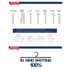 Кофта детская хлопок, вес 0.15 kg, zak25- JK8106.2