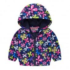 """Куртка детская """"ветровка"""", подклад шелк, вес 0.12 kg, zak25- JK8004.19"""
