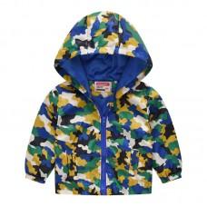 """Куртка детская """"ветровка"""", подклад шелк, вес 0.12 kg, zak25- JK8004.14"""