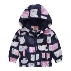 """Куртка детская """"ветровка"""", подклад шелк, вес 0.12 kg, zak25- JK8004.15"""