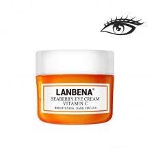 Крем для век с витамином C 20g, укрепляющий, устраняющий отечность, против морщин LANBENA, LB34-03